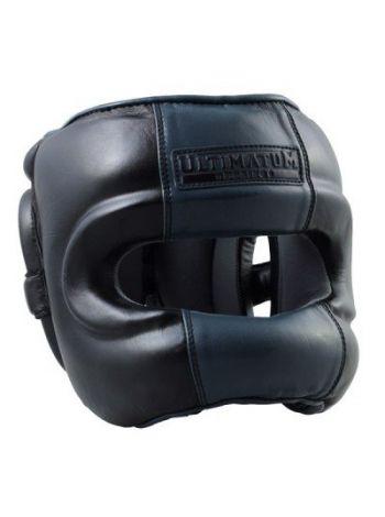 Шлем Ultimatum с бамперной защитой Gen3FaceBar Black