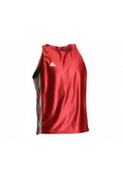 Майка боксерская Adidas Amateur Boxing Tank Top красная