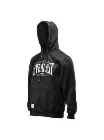 Толстовка Everlast Authentic с капюшоном черная