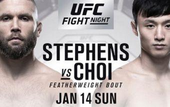 Стивенсон против Чоя на UFC Fight Nights 124