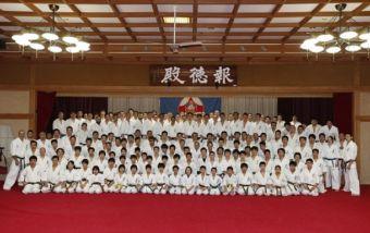Шокей Мацуи провел зимний лагерь IKO Kyokushinkaikan
