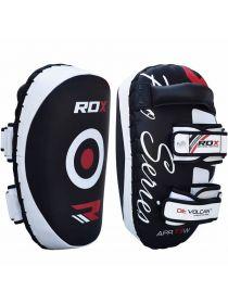 Тайские пады RDX G-Core Leather Pro белые