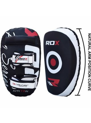 Тайские пады RDX G-Core Leather Pro белые